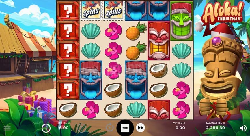アロハゲーム画面