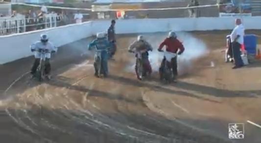 バーチャルダートバイクレース