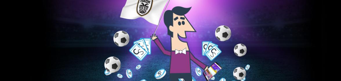 PAOK FCコラボイメージバナー
